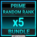 5 x PRIME RANDOM RANK BUNDLE | PR-21