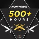 MGE (NON PRIME) MASTER GUARDIAN ELITE NON-PRIME | 500+ Hours on CSGO