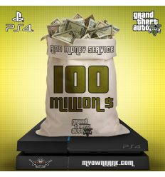 PS4 GTA V 100 MILLION IN BANK