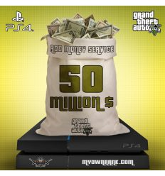 PS4 GTA V 50 MILLION IN BANK