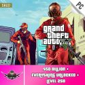 PC GTA V Account With 50 Billion Online Cash and 250 level [Epic Games PC]