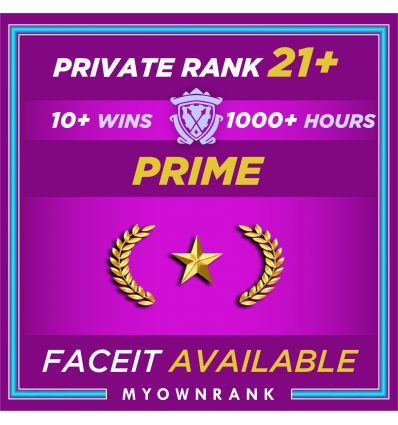 Prime GN-1 OR GN-2   1000+ Hours   Private Rank 21+