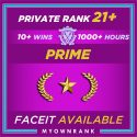 Prime GN-1 OR GN-2 | 1000+ Hours | Private Rank 21+ | Faceit Available