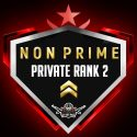 CS:GO Private Rank 2 NON PRIME ACCOUNT