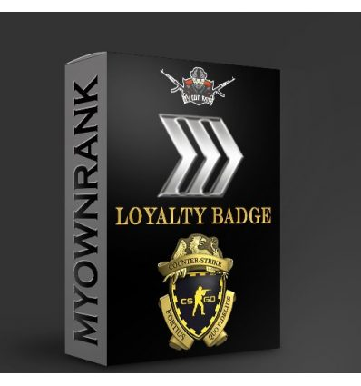PRIME SILVER 3 OR 4 WITH LOYALTY BADGE